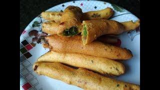 Chili Finger Recipe | Mirchi Pakora Spicy Or Chilli Pakoda Recipe