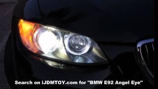 ijdmtoy bmw e92 angel eyes led h8 marker bulbs hd
