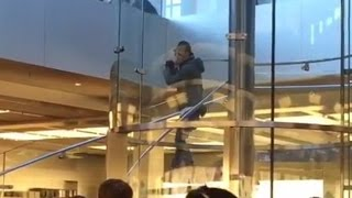 Man With Samurai Sword Causes Panic In New York Apple Store