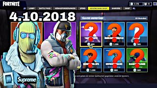 Fortnite Daily Item Shop 4.10.18 | RAPTOR SKIN WIEDER DA!!