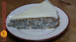 Маковый торт. Крем для торта с маскарпоне◊Poppy seed cake
