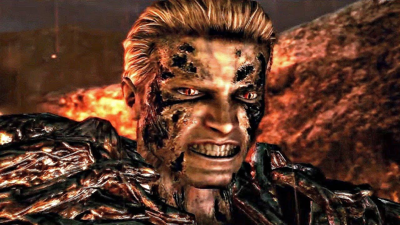 Resident Evil 5 Ending Final Boss Fight 1080p 60fps Youtube