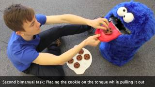 Cookie Monster: rehabilitative toy for child stroke sufferers