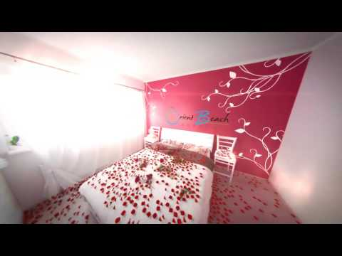 A room with rose petals @ The Orient Beach Boracay