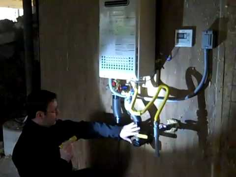 Tankless Water Heater Annual Flush Routine
