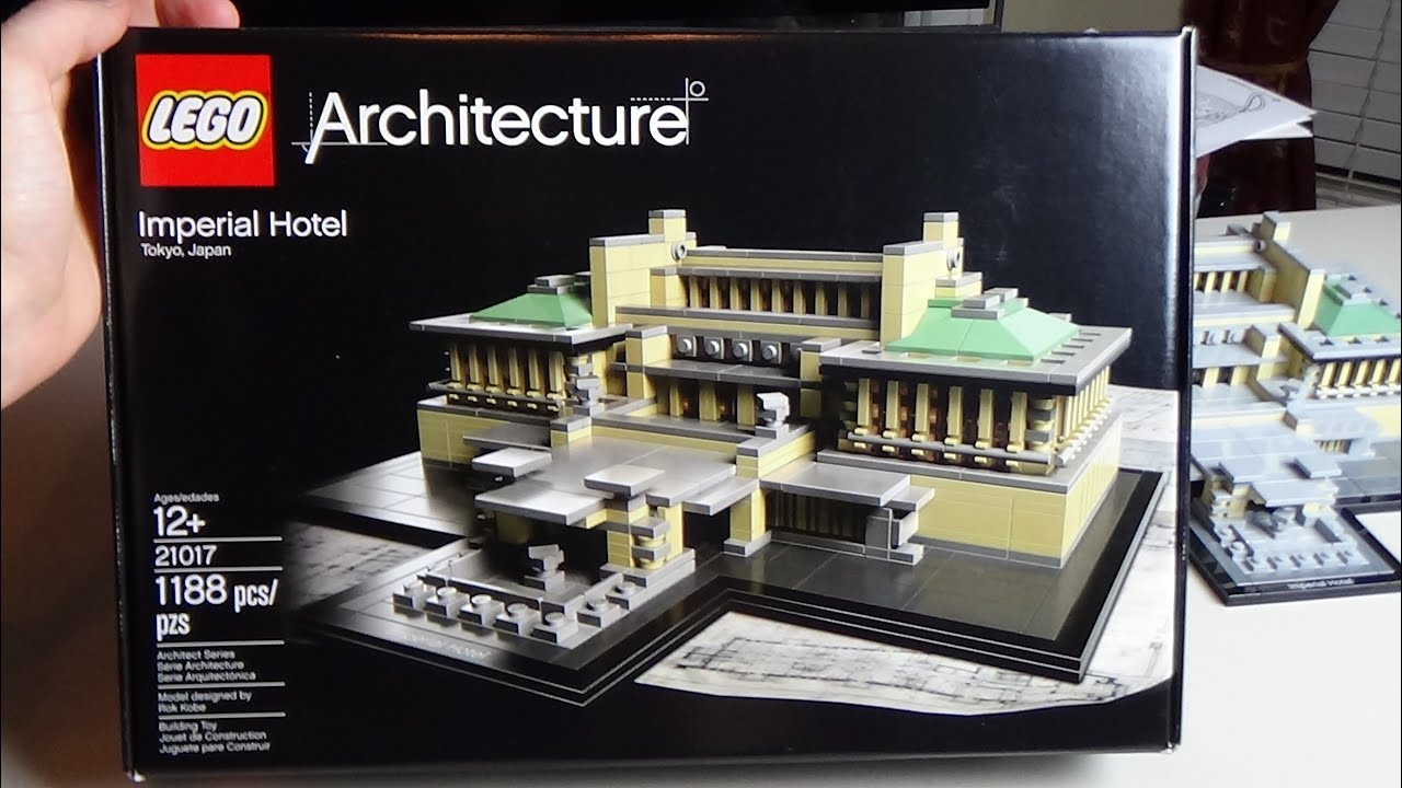 Lego - Imperial Hotel Architecture Series Set 21017
