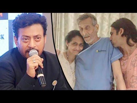 Irrfan Khan SPEAKS UP Vinod Khanna's Shocking Viral Picture From Hospital