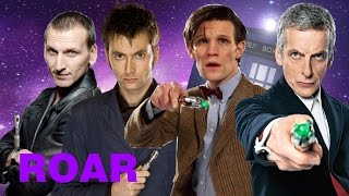 Doctor Who Tribute | Roar - NINE TEN ELEVEN TWELVE Doctors Tribute