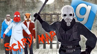 Garry's Mod Not Very Scary Map - Hoodini, Pool Party, Illuminati (Gmod Funny Moments)