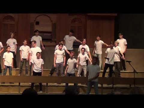 Desert Canyon Middle School Men's Choir - Boy Band Medley - May 23, 2019