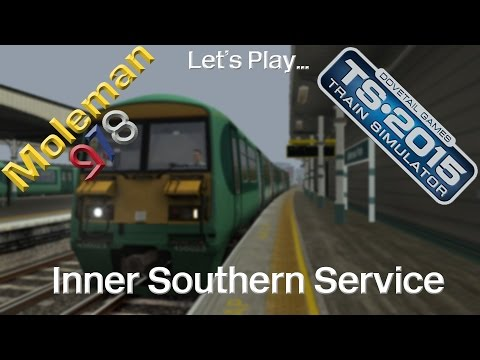 Let's Play: TS2015, Inner Southern Service