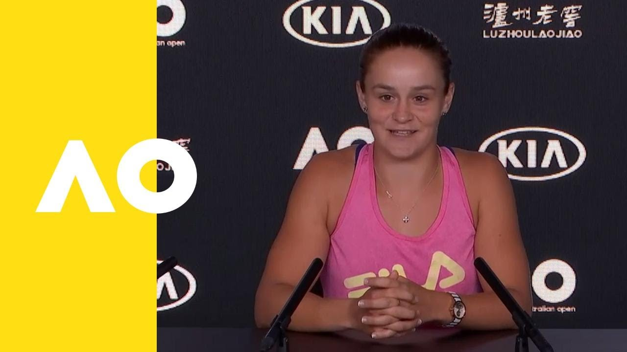 Ashleigh Barty press conference (3R) | Australian Open 2019