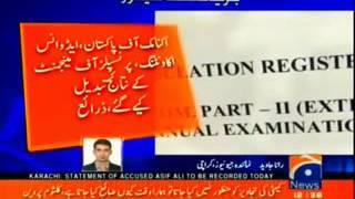 Karachi University Result Changed Scandal