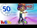 School for Kids |  TuTiTu Specials | Push Scooter | And Other Toys on Wheels | 50 Minutes Special
