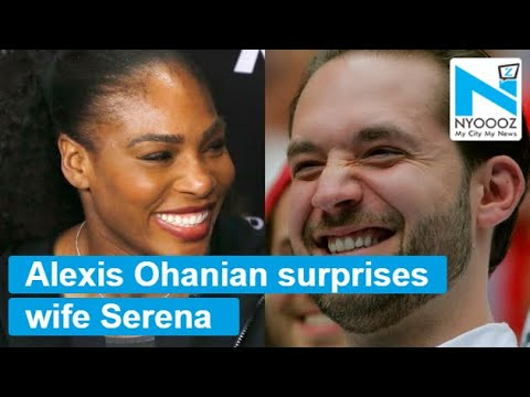 Serena Williams's Husband Welcomes Her In The Sweetest Way Possible | NYOOOZ TV