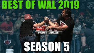 WAL SEASON 5 (BEST MOMENTS AND ARM WRESTLING HIGHLIGHTS)