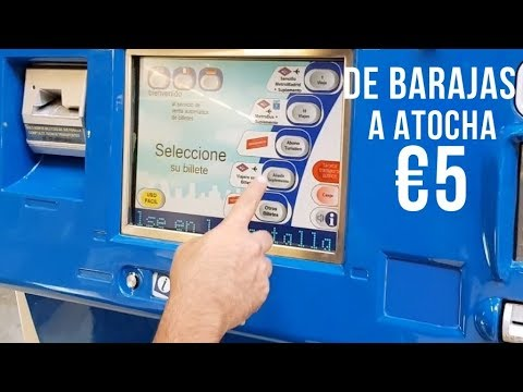 Como llegar del aeropuerto de Madrid al centro - De Barajas a Atocha en Metro