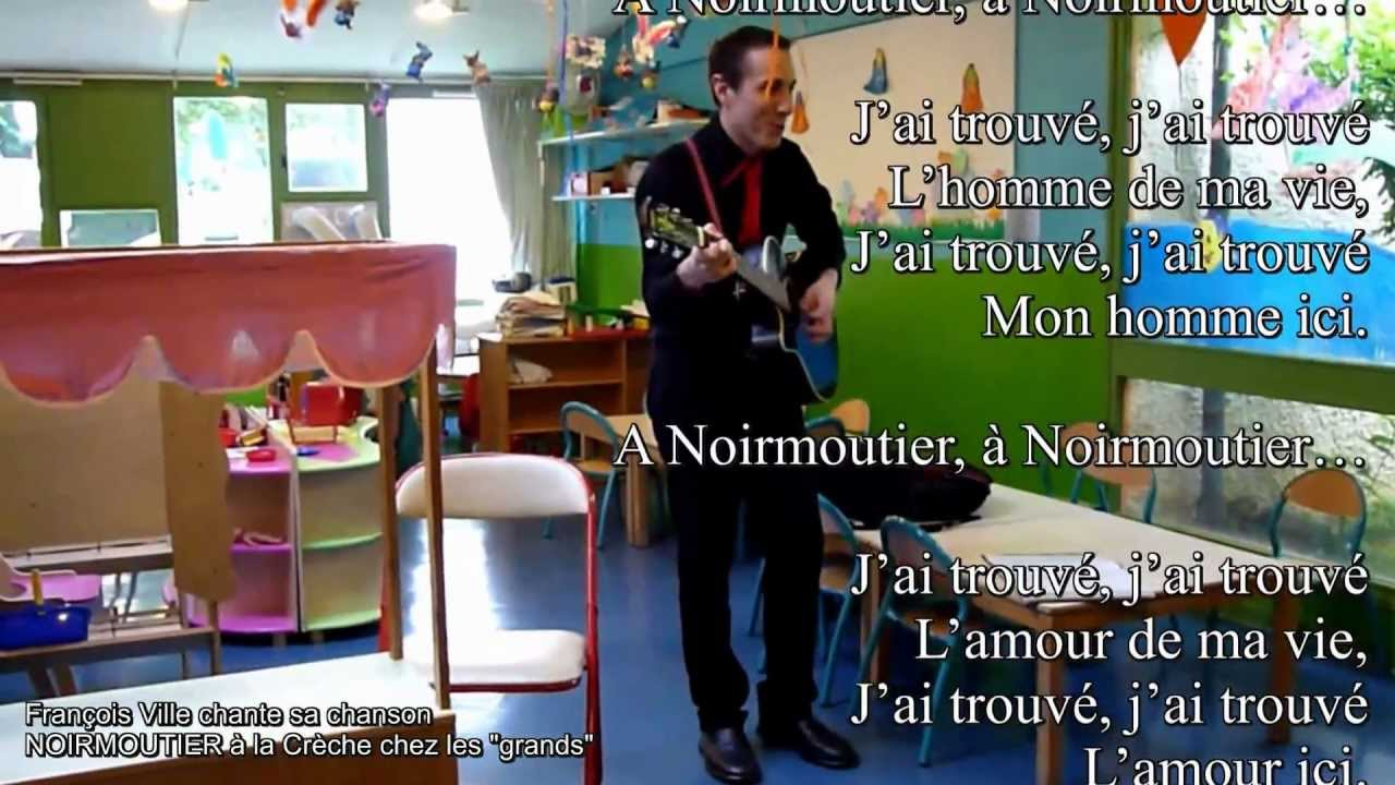 Häufig Chanson pour les Enfants : NOIRMOUTIER (par Francois Ville à la  HO87