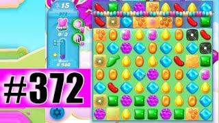 Candy Crush Soda Saga Level 372 (NEW)   Complete!