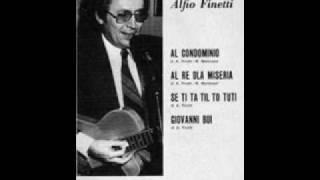 Alfio Finetti - Ho susanna + A go