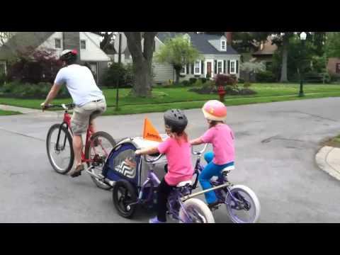 Milo and The Long Long Bike Trailer