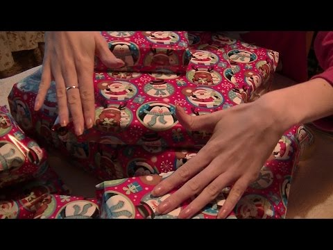 Christmas Gift Wrapping 2016 (ASMR)