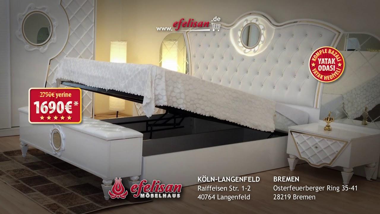 Efelisan Mağazaları Kampanyaya Doymuyor Bazalı Yatak Odası Modelleri