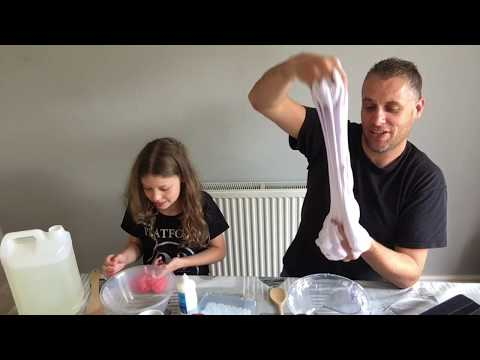 Fluffy Slime - Floam slime 3 types of contact asda, boots & superdrug (UK ingredients )