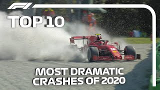 The 10 Most Dramatic Crashes of the 2020 F1 Season
