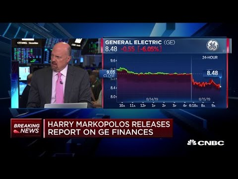 Jim Cramer weighs in on whistleblower allegations against General Electric