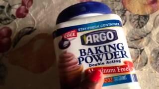 Aluminum Free Baking powder (ARGO)