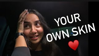 How To Be Comfortable In Your Own Skin | #RealTalkTuesday | MostlySane