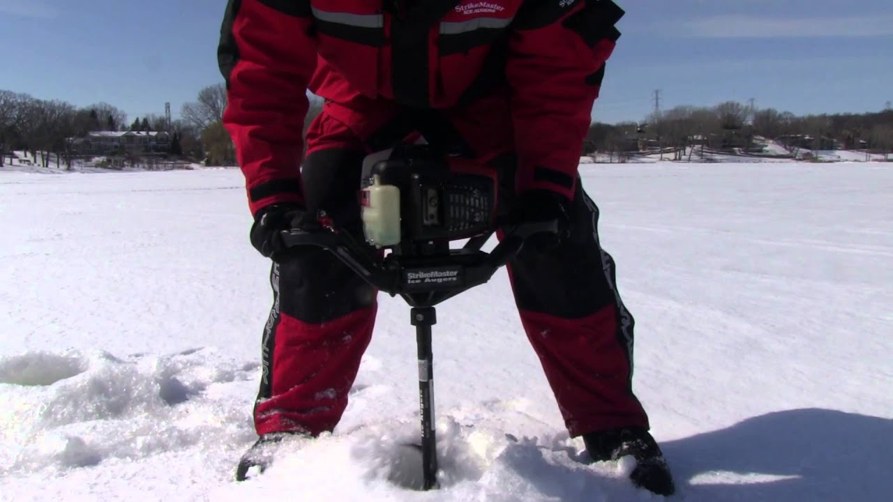 StrikeMaster Auger Tips: Drilling a hole