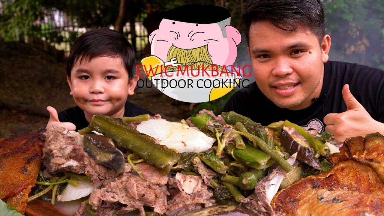 OUTDOOR COOKING | SINIGANG NA BUTO BUTO NG BABOY at PRITONG MAYA-MAYA Collab@brandylicious FoodLife