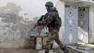 Жёсткий бой сирийской армии с террористами ИГИЛ