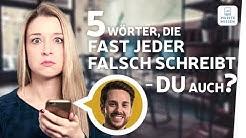Diese Rechtschreibfehler macht fast jeder! | Chat mit Mirko | musstewissen Deutsch