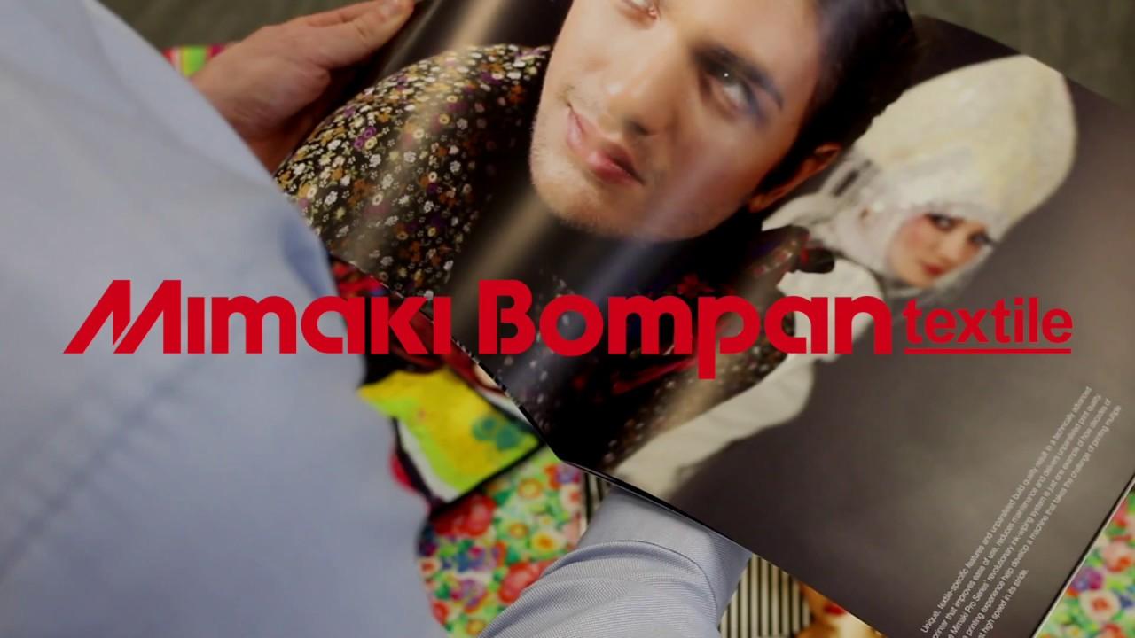 Mimaki Bompan Textile - A New Joint Venture
