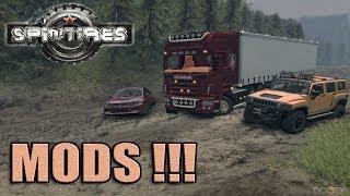 Spin Tires MODS! Lancer, Hummer e Scania!