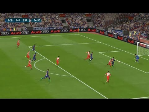 [HD] FC Barcelona vs Espanyol LaLiga Santander 09/09/2017 Journée 03 | PES 2017