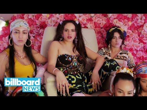 Rosalia & J Balvin Ft. El Guincho Release New Collab 'Con Altura' | Billboard News