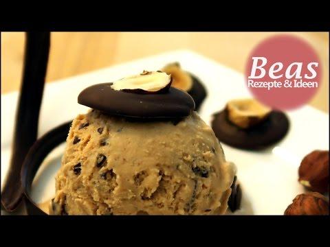 Toffee-Eis Rezept | Eis selber machen mit Nougat – Karamell und Schoko