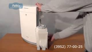 видео Очиститель воздуха Panasonic F-PJD35R