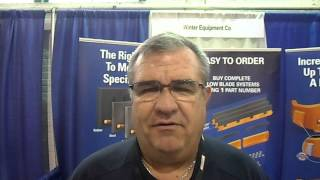 Video still for Mike Parker of Winter Equipment at the 19th annual New York State Highway and Public Works Expo