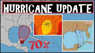 HURRICANE UPDATE 70% MAJOR STORM FORMATION Hurricane Alberto?