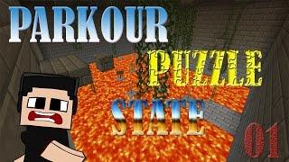 """Minecraft: Mapa de Aventura Parkour Puzzle State con ALK4PON3 Ep. 1 """"Siempre Escaleras"""""""