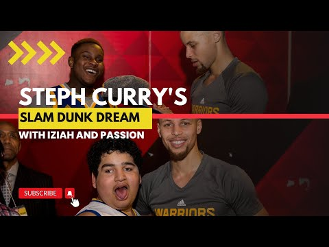 Two Kids, One Dream. Passion & Iziah Meet Steph Curry!