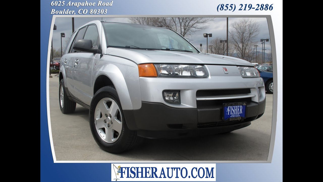 2004 saturn vue silver 7900 boulder colorado fisher auto 2004 saturn vue silver 7900 boulder colorado fisher auto stock p6731a youtube vanachro Images