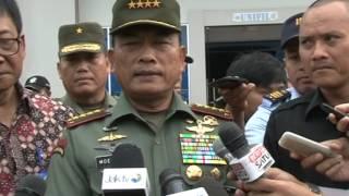 Panglima TNI Terima 24 Panser Anoa dari PT  Pindad