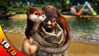 ARK OTTER TAMING! HOW TO TAME AND WHERE TO FIND THE OTTER! OTTER TAMING PEN! Ark Survival Evolved