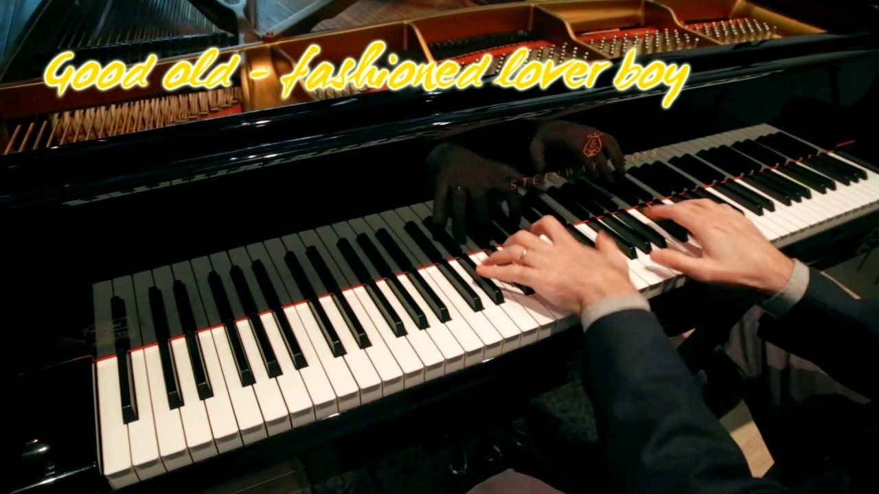 Queen Good Old Fashioned Lover Boy Piano